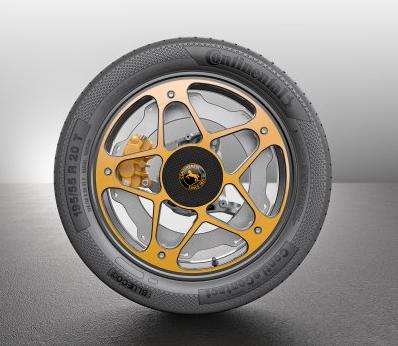 Continental komt met nieuw wiel voor EV's