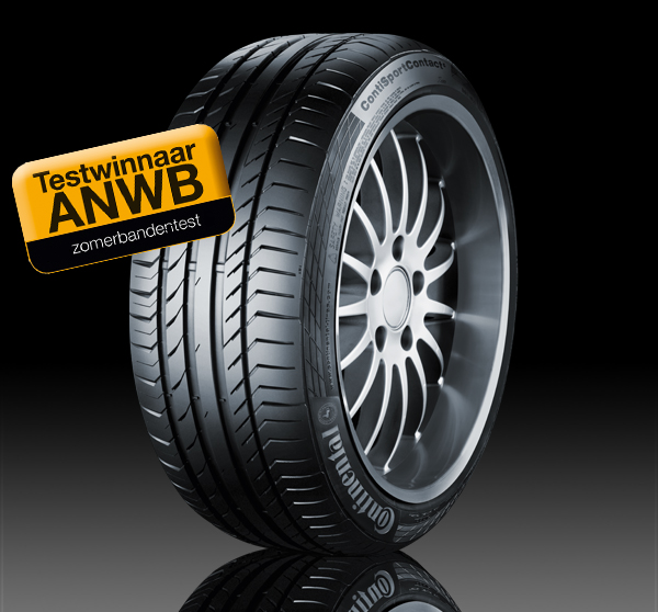 Continental winnaar ANWB zomerbanden-test